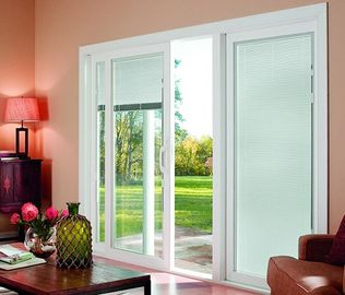 Internal Blinds Inside Glass Sound / Heat Insulating Energy Saving